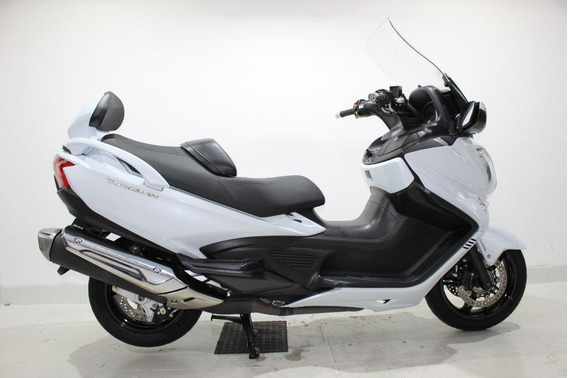 Suzuki Burgman 650 Executive 2017 Branca