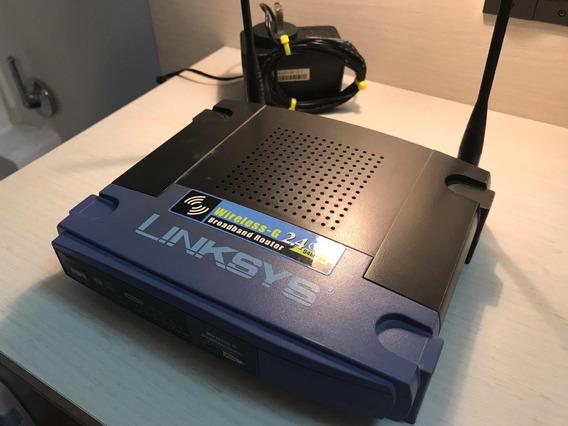 Router 2,4ghz Linksys Wrt54g V8