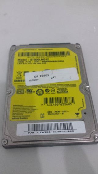 Placa Hd Samsung St500lm012 Testada