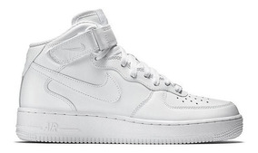 Tênis Nike Air Force 1 Mid 07 Leather Feminino Original
