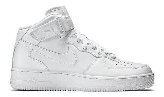 Tênis Nike Air Force 1 Mid 07 Leather Feminino Original
