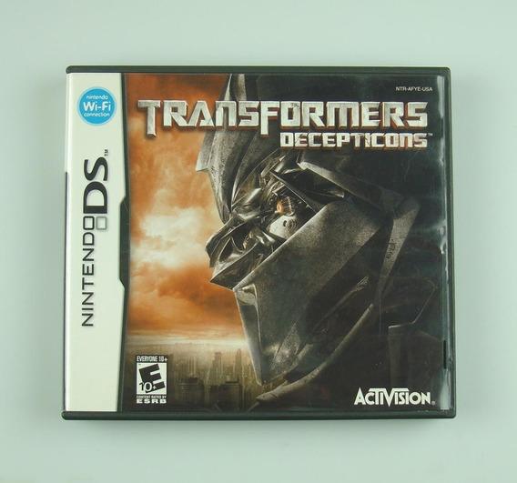Transformers Decepticons / Nintendo Ds - Original E Completo