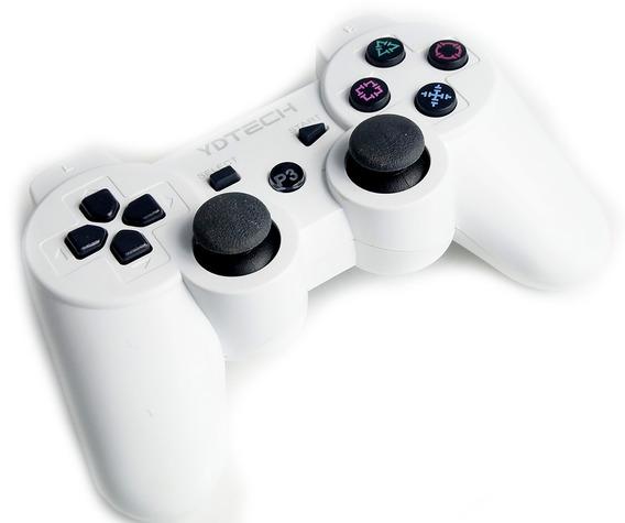 Controle Joystick Sem Fio Ps3 Vibração Dual Shock Vibração