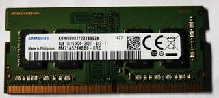 Ddr4 Ram Samsung 4gb Poco Uso