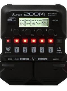 Pedalera Multiefectos Guitarra Digital Zoom G1 Four /cuotas