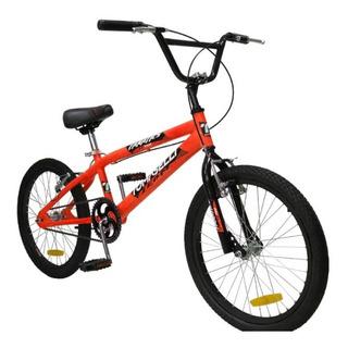 Bicicleta Tomaselli Bmx Fanatics Rodado 20 Todos Los Colores