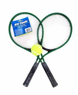 Kit Tênis Com 2 Raquetes E 1 Bola Western Tb1