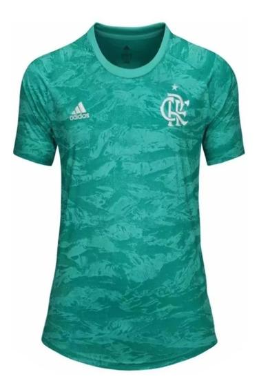 Camisa Flamengo Verde Feminina (19/20) Envio 24hrs Oferta