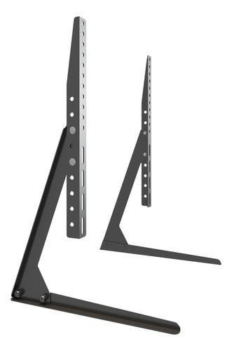 """Suporte Multivisão STAND100 de mesa para TV/Monitor de 32"""" até 65"""" preto"""