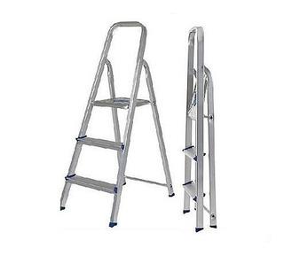 Escada De Aluminio Nova Prima 3 Degraus