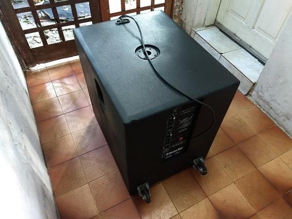 Subwoofer Ativo Sw 18 (preto) 1000w 18 Polegadas - Soundbox