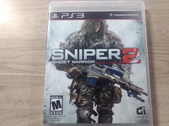 Jogo Seminovo Sniper Ghost Warrior 2 Ps3 Pronta Entrega