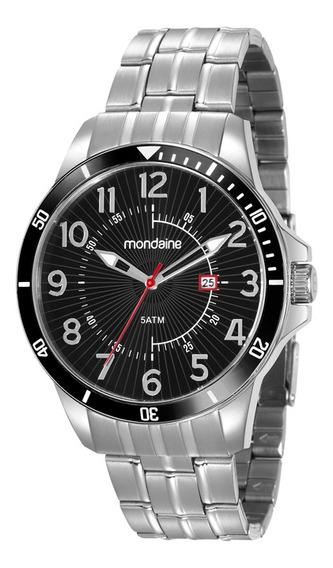 Relógio Mondaine Masculino Prata 78761g0mvna1