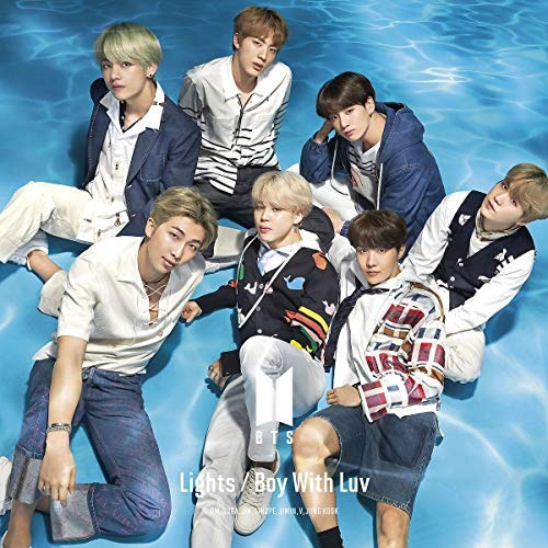 Cd : Bts - Lights / Boy With Luv (making Of Videos) (2...