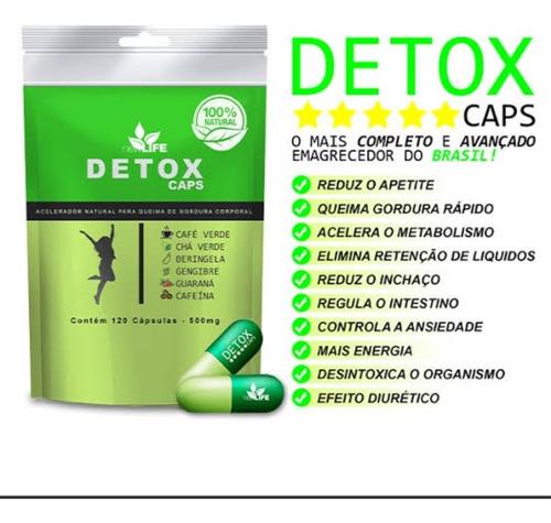 Detox Caps Emagrecedor.