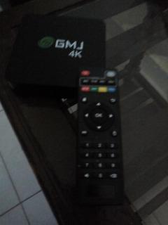 Conversor Smart Tv Android Tv Box Quad Core 4k 8gb 2020