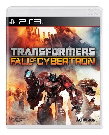 Transformers Fall Of Cybertron Ps3 - Leia Descrição