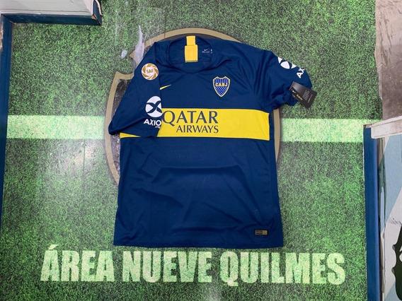 Camiseta Boca Titular 2019 #15 Nandez