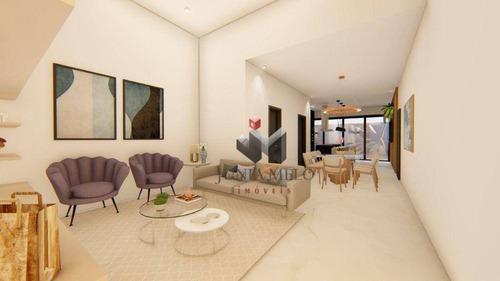 Imagem 1 de 17 de À Venda Por R$ 1.100.000  Casa Com 3 Dormitórios, 167 M² - Quinta Da Primavera - Ribeirão Preto/sp - Ca0634