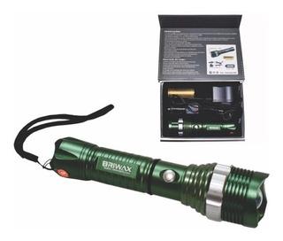 Lanterna Tatica Luz Sos 38000w Sistema De Zoom X2000 Bx-8370