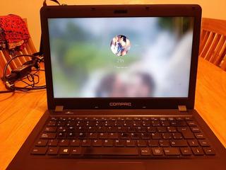 Notebook Compac Presario