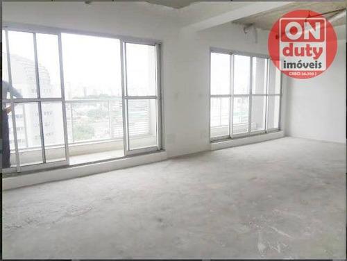 Conjunto À Venda, 57 M² Por R$ 436.000,00 - Barra Funda - São Paulo/sp - Cj0045