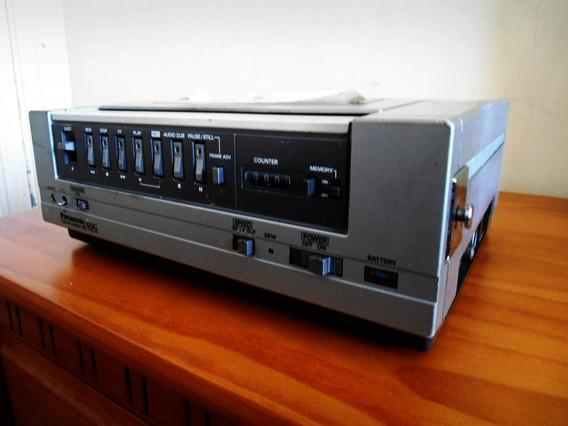 Video Cassete Panasonic Pv- 3000 Portátil - Antigo Anos 80!