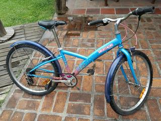 Bicicleta De Niña Rodado 20 A Partir De Los 6 Años...
