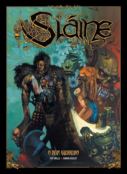 Sláine, O Deus Guerreiro, De Pat Mills E Simon Bisley