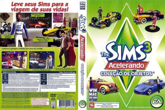 The Sims 3 Acelerando Coleção De Objetos Pc *novo*