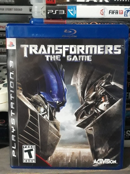 Transformers The Game Jogo Mídia Física Playstation 3 ( Ps3)