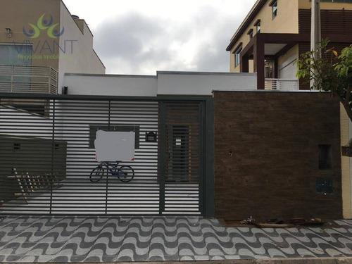 Casa Com 3 Dormitórios À Venda, 76 M² Por R$ 415.000,00 - Jundiapeba - Mogi Das Cruzes/sp - Ca0281