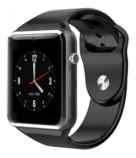 Smartwatch Relógio C/chip Bluetooth Ios/android Touch Screen