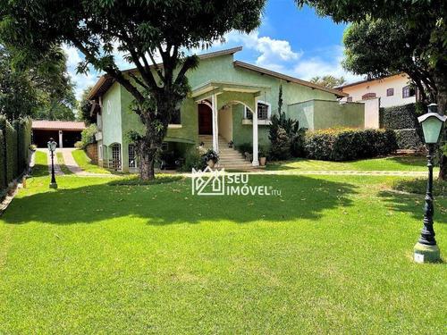 Casa Com 4 Dormitórios À Venda, 452 M² Por R$ 1.300.000,00 - Condomínio Mangueiras De Itu - Itu/sp - Ca1587