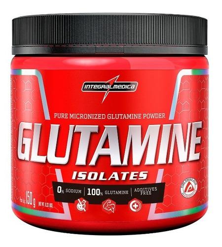Glutamina Isolates 150g Integralmédica 100% Pure - Original
