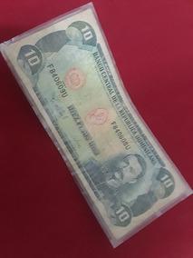 Billete De 10 Peso Dominicano