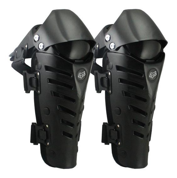 Rodilleras Articuladas T/ Fox Raptor Motocross Cros Nsr Moto