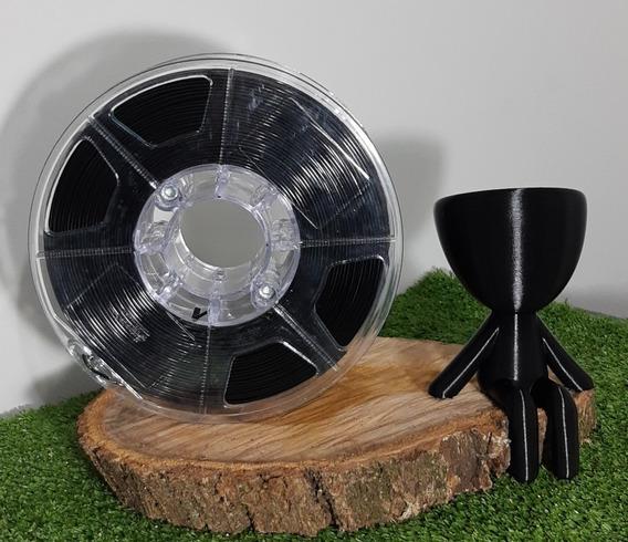 Filamento Pla 1,75mm Preto - Alto Teor De Pureza 1kg