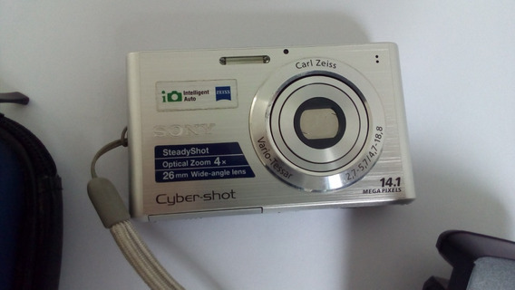 Câmera Cyber Shot Dsc W330 Sony 14.1 Mega Pixels