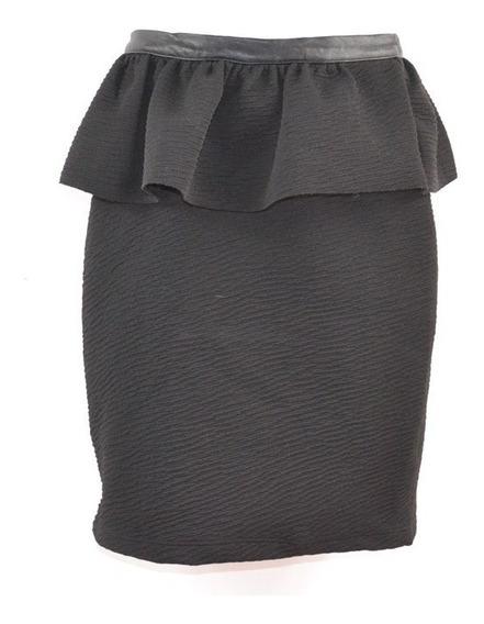 Zara Collection 28 Falda Negra Mrsp $600