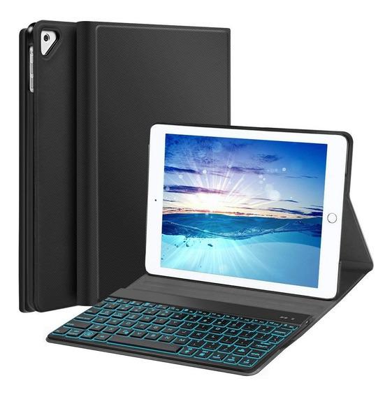 Case iPad Pro 9.7 Smart Capa Apple Teclado Iluminado Folio