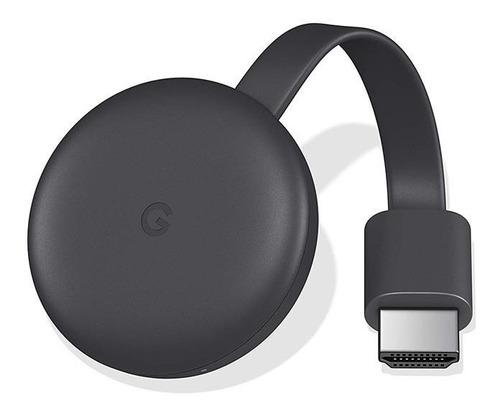Google Chromecast 3 Charcoal 3era Generación Ga00439-la
