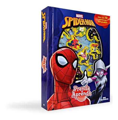 Imagem 1 de 4 de Spider Man Prenda E Aprenda