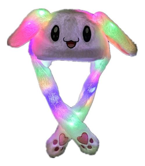 Led Luminoso Y Cálido Sombrero De Conejo
