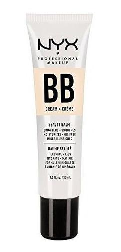 Nyx Professional Makeup Bb Cream, Desnudo, 1 Onza