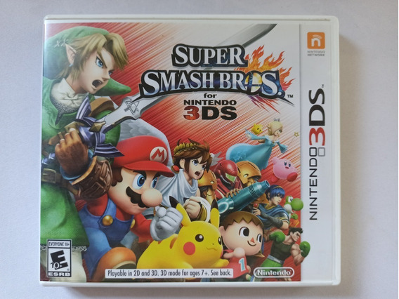 Super Smash Bros - 3ds (completo)