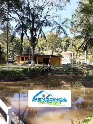 Chácara Com Piscina E Lago Em Juquitiba Sp.