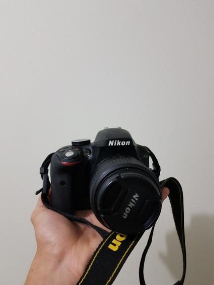 Câmera Profissional Nikon D3300 Usada Perfeito Estado