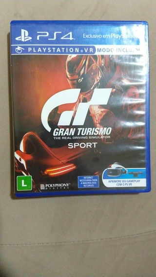 Jogo Ps4 Gt Gran Turismo The Real Driving Simulador Sport