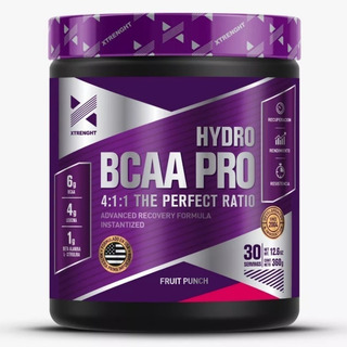 Hydro Bcaa Pro Xtrenght Polvo 30 Servicios 4:1:1 360gr